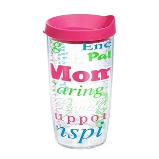 Tervis Definition of Mom Wrap Bottle with Travel Lid (16 oz)
