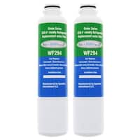 Replacement Water Filter For Samsung RF25HMEDBSR Refrigerator Water Filter by Aqua Fresh (2 Pack)