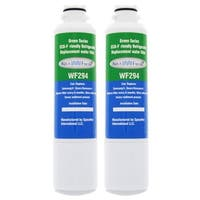 Replacement Water Filter For Samsung RS25J500DSG Refrigerator Water Filter by Aqua Fresh (2 Pack)