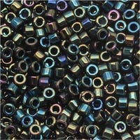 Miyuki Delica Seed Beads 11/0 Green Iris DB003 7.2 GR