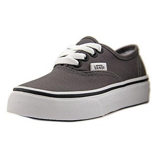 Vans Kids Uy Authentic, Pewter/Blk, 2.5