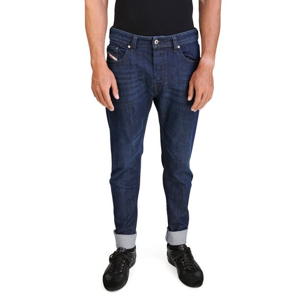 Diesel Larkee-Relaxed Men's Comfort-Straight Stretch Denim Jeans 0845B