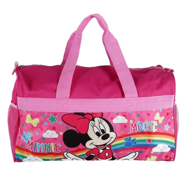 Minnie Mouse Travel Bag Medium Pink Minnie Mouse Tote Bag