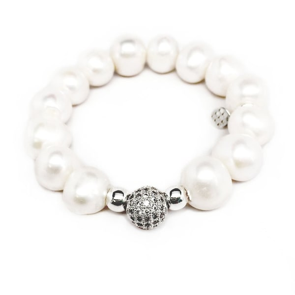 "Freshwater Pearl Radiance 7"" Bracelet"