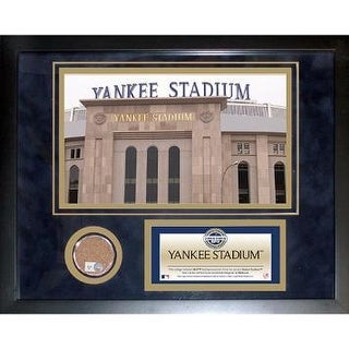Yankee Stadium 2009 Mini Dirt Collage