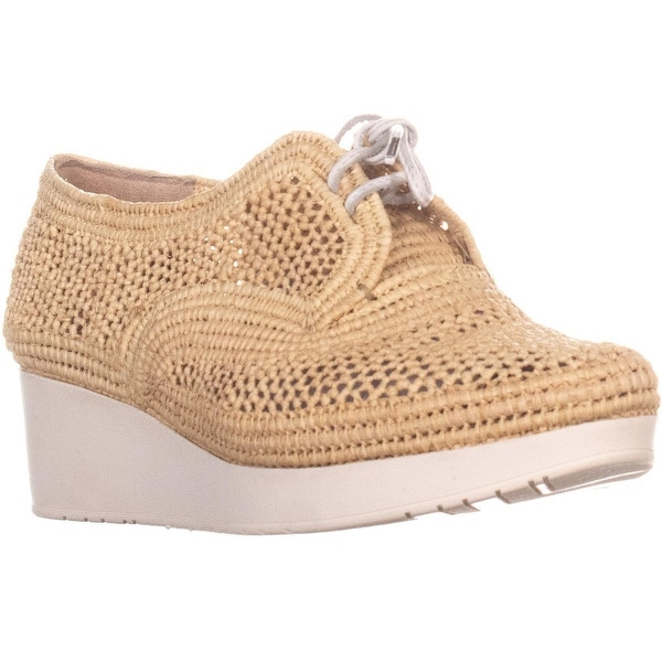 bff26c276463 Shop Robert Clergerie Vicole Lace Up Wedge Sneakers
