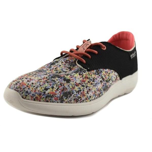 W.A.U C18058 Women Cotton White/Canvas White Sneakers Shoes