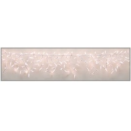 Celebrations 14200-71 High Density Icicle Lights, Clear, 300 lights