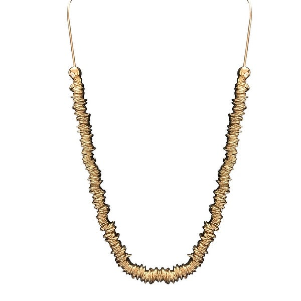 max & MO Multi Gold Rings Necklace