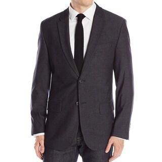 Calvin Klein NEW Gray Men Size Medium M Two-Button Classic Sport Coat