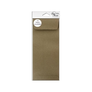 Envelope #10 Policy 10pc Brown Bag