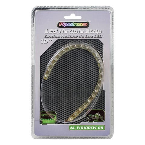 Nippon nlf1010cwgr audiopipe flexible weather proof led strips 10 green