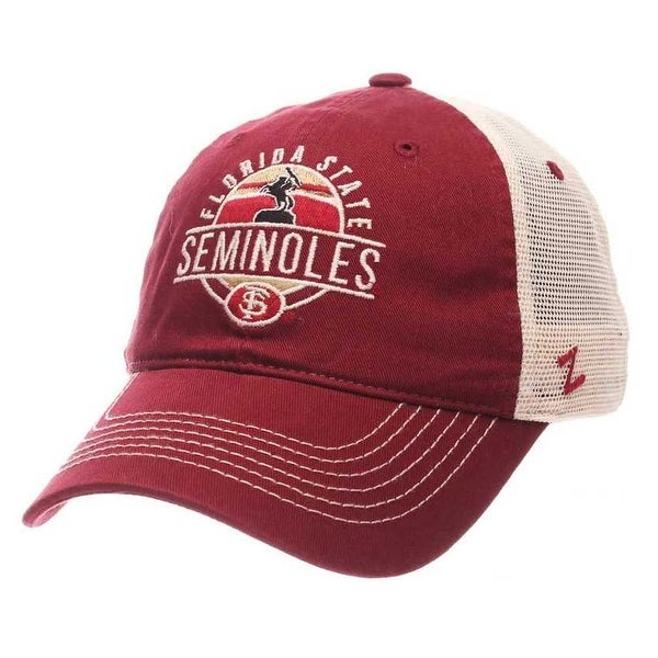 Shop Zephyr Hats NCAA Florida State Seminoles Memorial Trucker Snapback Baseball  Cap - Free Shipping On Orders Over  45 - Overstock - 19402142 3a80c9784a43