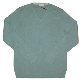 Calvin Klein NEW Teal Blue Mens Size Small S V-Neck Stretch-Knit Sweater https://ak1.ostkcdn.com/images/products/is/images/direct/745beb43a6ad51d0c65e414e660742c6a2ca57ae/Calvin-Klein-NEW-Teal-Blue-Mens-Size-Small-S-V-Neck-Stretch-Knit-Sweater.jpg?impolicy=medium