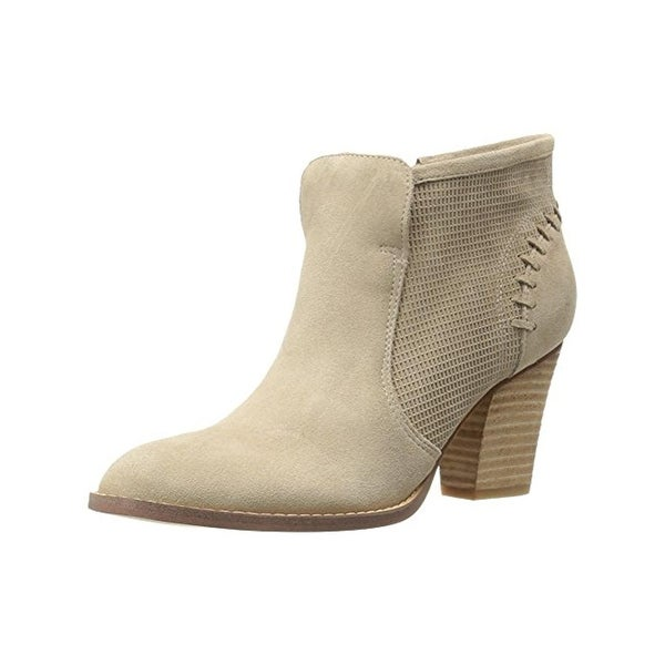 Marc Fisher Womens Cadis Booties Suede Ankle