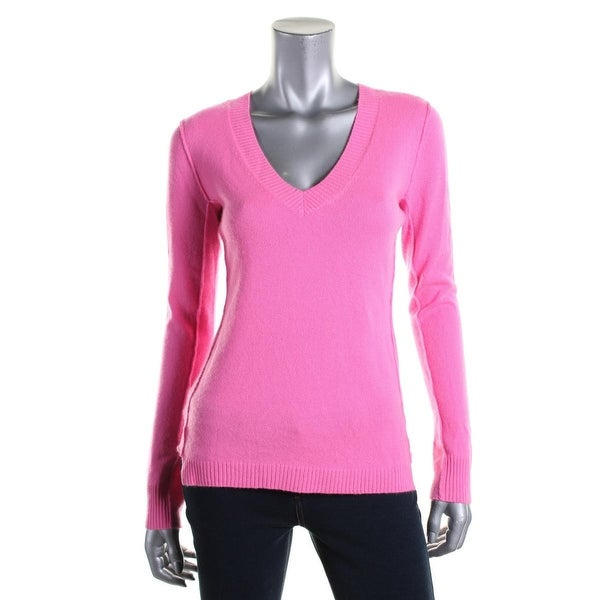 Cashmere Womens Pullover Sweater V-Neck