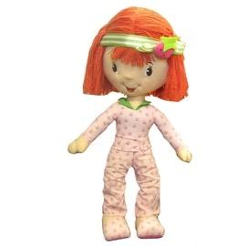 Giant Strawberry Shortcake Stuffed Doll in Pajamas
