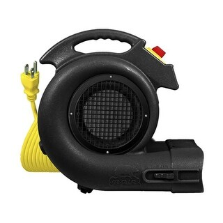 B-Air Dryers GP-1-C-UL-US Black Grizzly 1 HP Carpet Dryer- Air mover