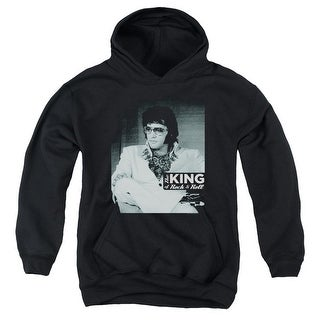 Elvis/Good To Be Big Boys Youth Pullover Hoodie
