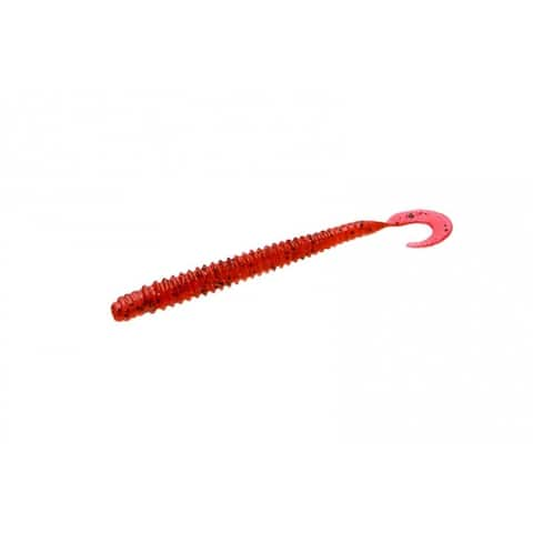 """Zoom 017-018 Dead Ringer Plastic Worm, 4"""", Cherry Seed, 20 Pack"""