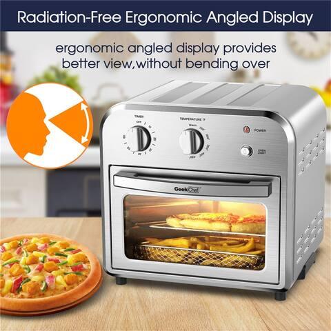 Air Fryer Oven, 4 Slice Toaster Airfryer Countertop Oven