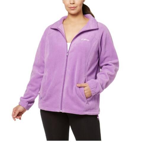 Columbia Plus Women's Benton Springs Full Zip Soft Fleece Jacket, 3X