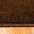 "AllStar Rugs Brown Modern Contemporary Area Rug (7' 10"" x 10' 2"") - Thumbnail 3"