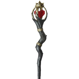 California Costumes Queen of Hearts Staff - Brown/Red