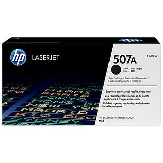 Hewlett Packard CE400A HP 507A (CE400A) Black Original LaserJet Toner Cartridge