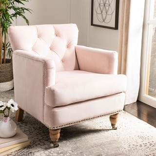 "Link to Safavieh Colin Tufted Club Chair - 28"" x 34.4"" x 32.7"" Similar Items in Living Room Chairs"