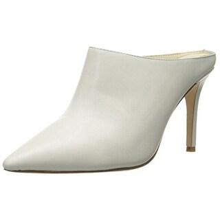 Bettye Muller Womens Granee Leather Pointed Toe Mules - 8.5 medium (b,m)