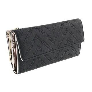 Versace EE3VOBPW3/1 E899 Black Multifunction Wallet - 7.5-4-15