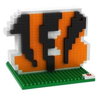 Cincinnati Bengals 3D NFL BRXLZ Bricks Puzzle Team Logo