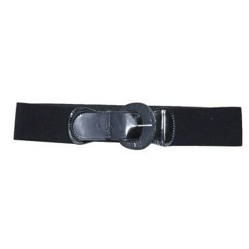 907c84ef6c8 Shop Funfash Plus Size Gothic Cinch Belt Brushed Silver Buckle Stretch  Elastic Belt - Free Shipping On Orders Over  45 - Overstock - 14693635