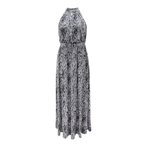 INC Black Sleeveless Maxi Dress XS