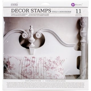 "Iron Orchid Designs Decor Clear Stamps 12""X12""-Toilechinoiserie"