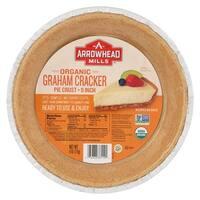 Arrowhead Mills Organic Graham Cracker Pie Crust - Case of 12 - 6 oz.