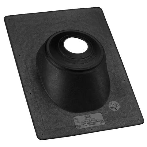 """Oatey 11919 All-Flash No-Calk Roof Flashing, Thermoplastic Base, 1.5"""" â"""" 3"""""""