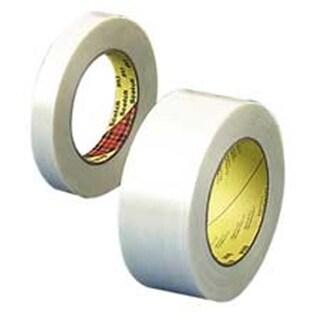 3M MMM89812 Filament Tape- 3in. Core- 2in.x60Yards- Clear