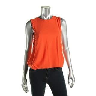 Michelle by Comune Womens Tipton Tank Top Burnout Cut Out|https://ak1.ostkcdn.com/images/products/is/images/direct/746a4857579c51c77d0349d6a79a5a353250082e/Michelle-by-Comune-Womens-Tipton-Tank-Top-Burnout-Cut-Out.jpg?impolicy=medium