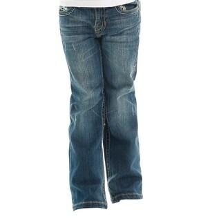 Cowgirl Tuff Western Denim Jeans Girls DFMI Barbed Medium Wash GJDFMI