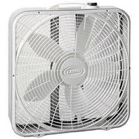 Lasko Products 3723 20 in. Premium Box Fan 3-Speed
