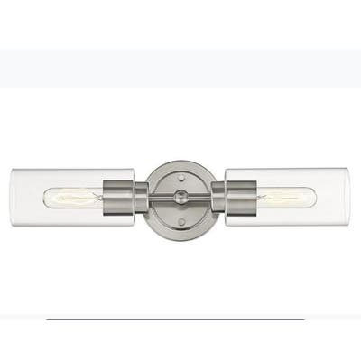 Nickel 2Light Sconce/Vanity Modern Light