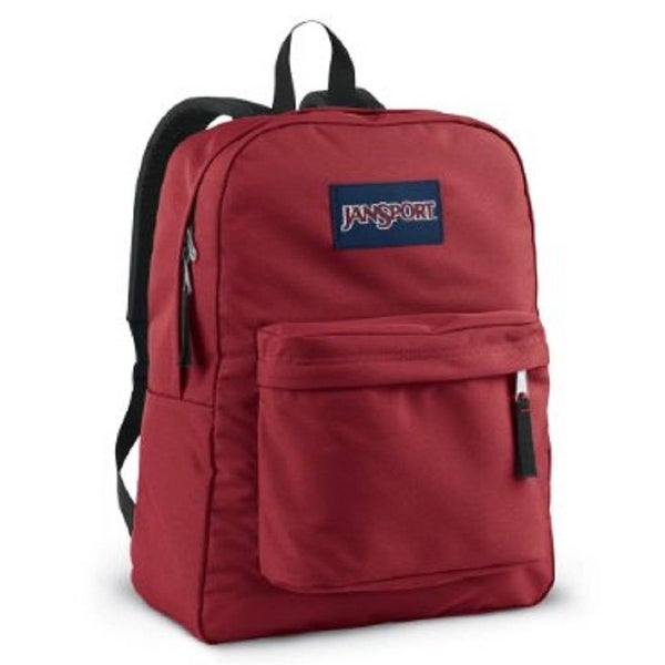 c0e3e9dc6 Shop JanSport Classic SuperBreak Backpack - Viking Red - Viking Red - One  Size - Free Shipping On Orders Over $45 - Overstock - 14710397