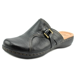 Clarks Leisa Belle W Round Toe Leather Mules