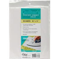 "Quilter's Freezer Paper Sheets-8.5""X11"" 30/Pkg"