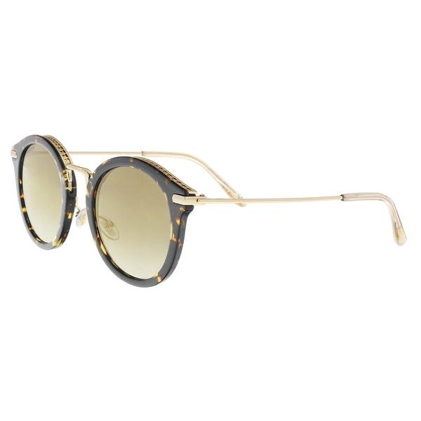 beda6b1f95fa Shop Jimmy Choo BOBBY S 0086 Dark Havana Round Sunglasses - 49-24 ...
