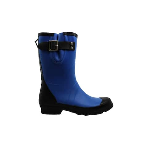 NOMAD Women's Shoes London Rubber Closed Toe Mid-Calf Rainboots - 8