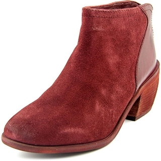 Charles By Charles David Yasmin   Round Toe Suede  Ankle Boot