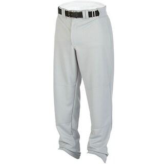 Rawlings Men's Relaxed Fit Medium Weight Baseball Pants - Gray